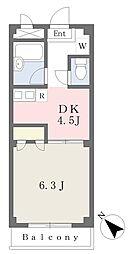 千代田駅 徒歩8分3階Fの間取り画像