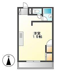 KS千種[4階]の間取り