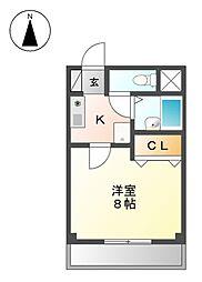 シャトー大塚[3階]の間取り