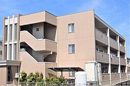 岐阜県大垣市三本木4丁目の賃貸マンションの外観