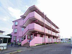 東京都東大和市中央4丁目の賃貸マンションの外観