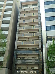 ピュアドーム博多21[601号室]の外観