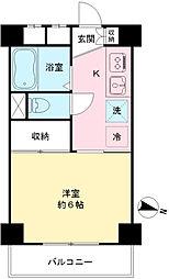粟沢マンション[309号室]の間取り