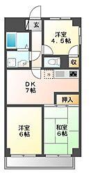 メゾン豊年[3階]の間取り