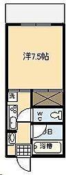 第2尚陽ビル[506号室]の間取り