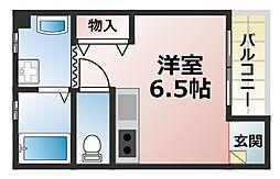 ハートウォーミング[2階]の間取り