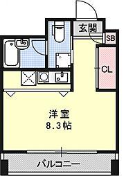 sumau[504号室号室]の間取り