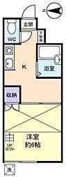 EA京成大和田[1階]の間取り