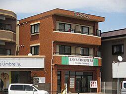 岡山県岡山市北区学南町2丁目の賃貸マンションの外観