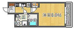 SERENiTE江坂四番館[5階]の間取り
