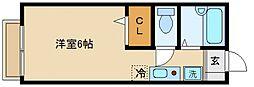 プレジールII[1階]の間取り