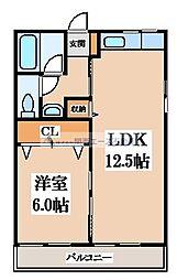 エトワールSEIWA[4階]の間取り