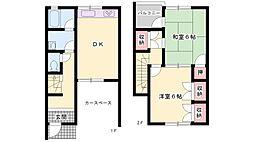 [テラスハウス] 兵庫県高砂市米田町島 の賃貸【/】の間取り