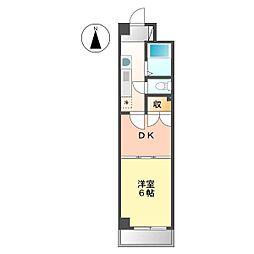 サンライトマンション[2階]の間取り