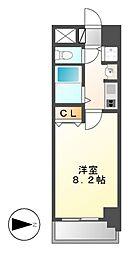 プレサンス名古屋駅前グランヴィル[11階]の間取り