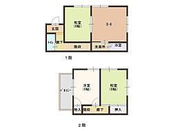 [テラスハウス] 静岡県静岡市葵区古庄6丁目 の賃貸【/】の間取り