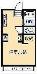 鈴木グリーンハイツB[103号室]の間取り