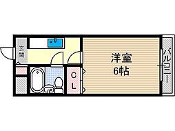 林泉第二ビル[3階]の間取り