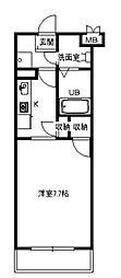 フォレスコート[4階]の間取り