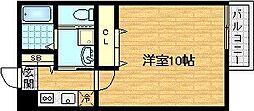 セントレジス新大阪III[1階]の間取り