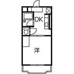 プレミール神田沢[3階]の間取り