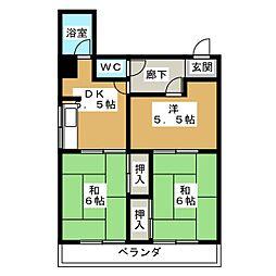メゾン武田[2階]の間取り