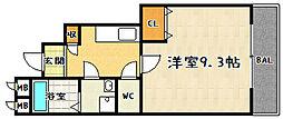 アスピリア石田[2階]の間取り