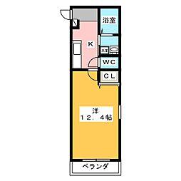 仮)ファンロジュマンII[3階]の間取り