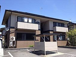 長野県須坂市大字小山の賃貸アパートの外観