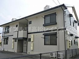 香川県高松市上天神町の賃貸アパートの外観