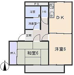 サープラスグレイスI・II[2階]の間取り