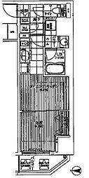 ファーストステージ東梅田[10階]の間取り