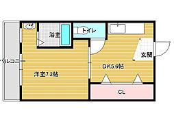 ヴィラナリー富田林2号棟[-3階]の間取り