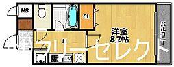 福岡県福岡市博多区東光2の賃貸マンションの間取り