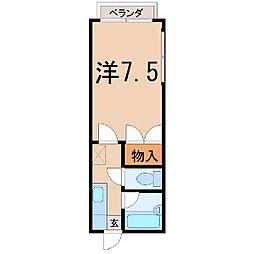 メゾンカンノ[2階]の間取り