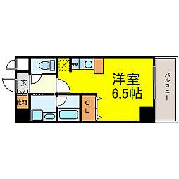 izumi[5階]の間取り