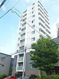 北海道札幌市中央区南四条西21の賃貸マンションの外観