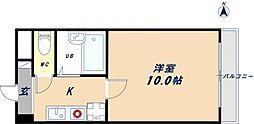 グランエストヨシタ[1階]の間取り