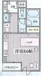 コンフォート荻窪[504号室]の間取り
