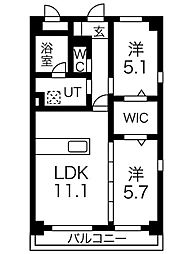 La mia casa[1階]の間取り