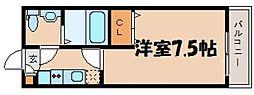 リヴェール海田[1階]の間取り