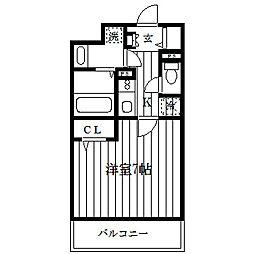 ログコートII[2階]の間取り