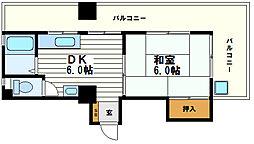 第3桃井ビル[8階]の間取り