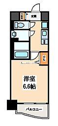 大阪府大阪市東成区東中本2丁目の賃貸マンションの間取り