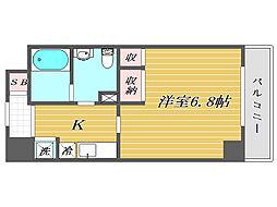 東京都北区赤羽北1丁目の賃貸マンションの間取り