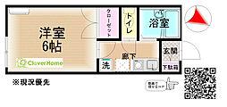 神奈川県相模原市南区上鶴間7丁目の賃貸アパートの間取り