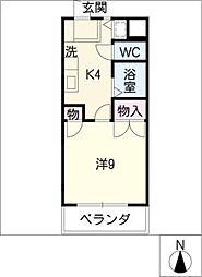パッセ藤ケ丘[2階]の間取り