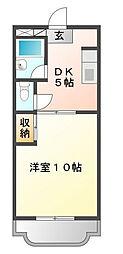 マンションアトラスⅠ[1階]の間取り