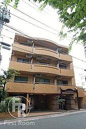 東京都目黒区目黒本町3の賃貸マンションの外観