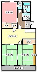 サンセゾン豊隆[2階]の間取り